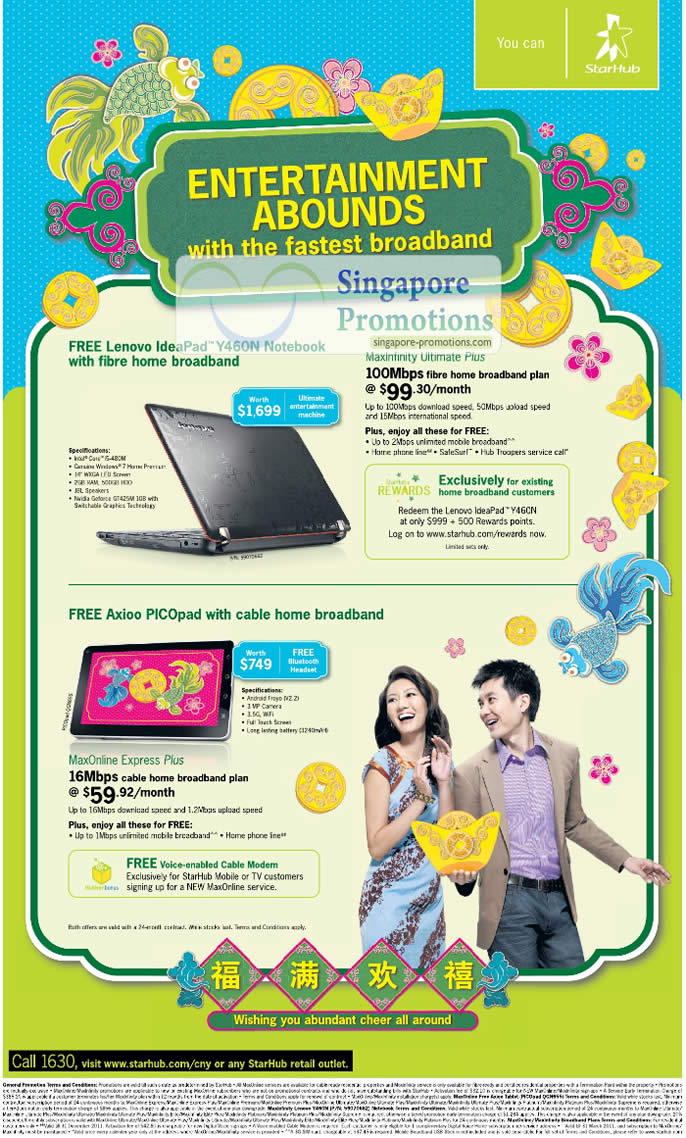 ... Starhub Free IdeaPad Y460N Notebook Axioo PICOpad 15 – 21 January