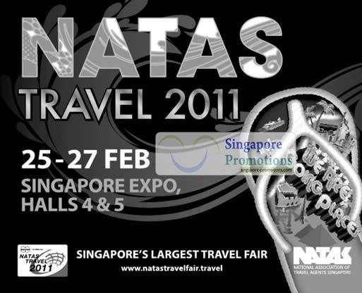 NATAS Travel Fair 2011 Singapore Expo 25 – 27 February 2011 - NATAS ...