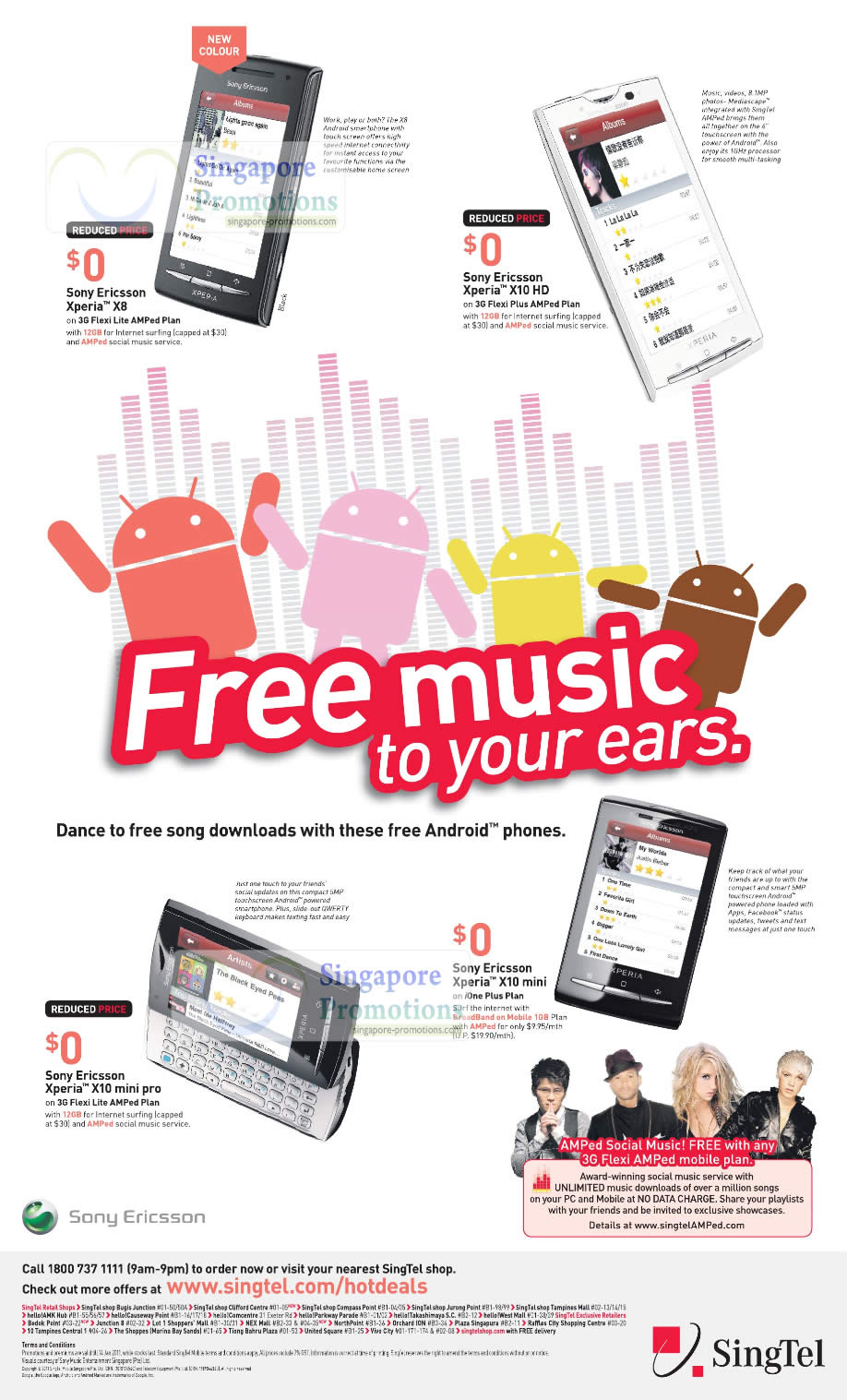 Singtel Singnet Broadband 8 January 2011 Price List - Sony Ericsson ...