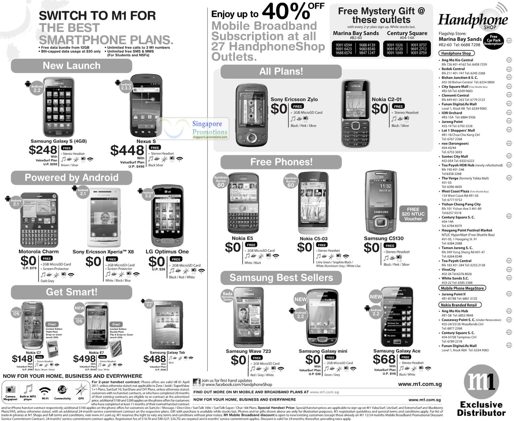 Galaxy S, Nexus S, C5130, Galaxy Tab, Wave 723, Galaxy Mini, Galaxy ...