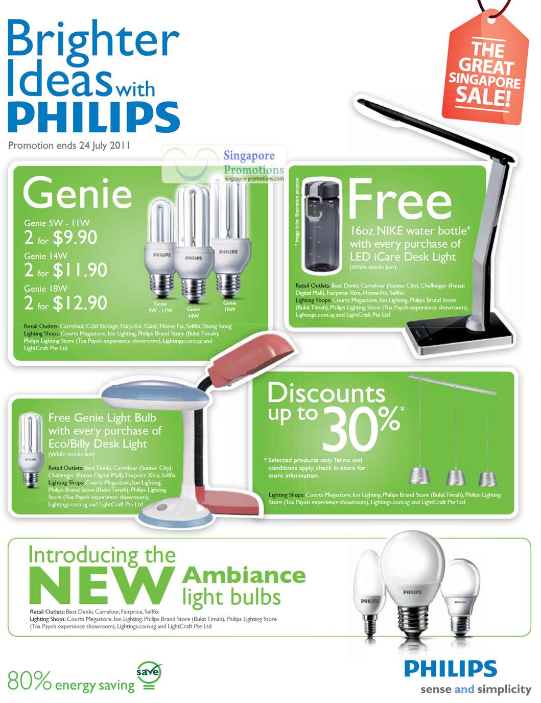 Philips 11 Jun 2011 Philips Light Bulbs Great Singapore Sale 11 ...