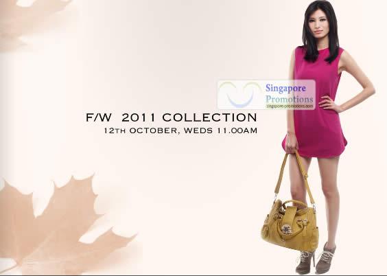 Her Velvet Vase New F/W 2011 Collection 12 Oct 2011 Singapore