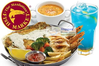 MANHATTAN FISH MARKET SINGAPORE 50% Off Small Flame Meal 3 Oct ...