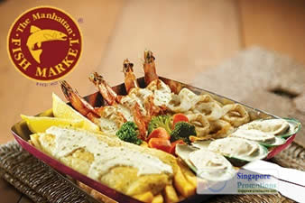 MANHATTAN FISH MARKET SINGAPORE 50% Off Grilled Gala Platter 15 Nov ...