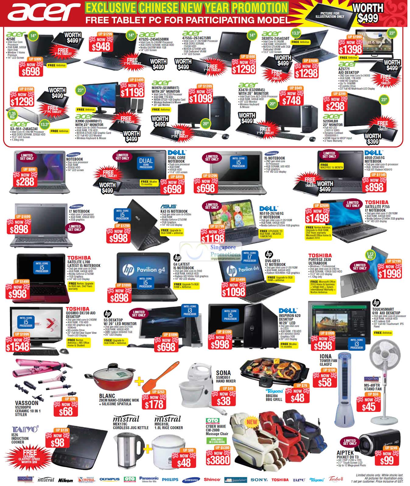 ... Electronics & Furniture Sale 2012 @ Suntec 6 – 8 Jan 2012 Singapore