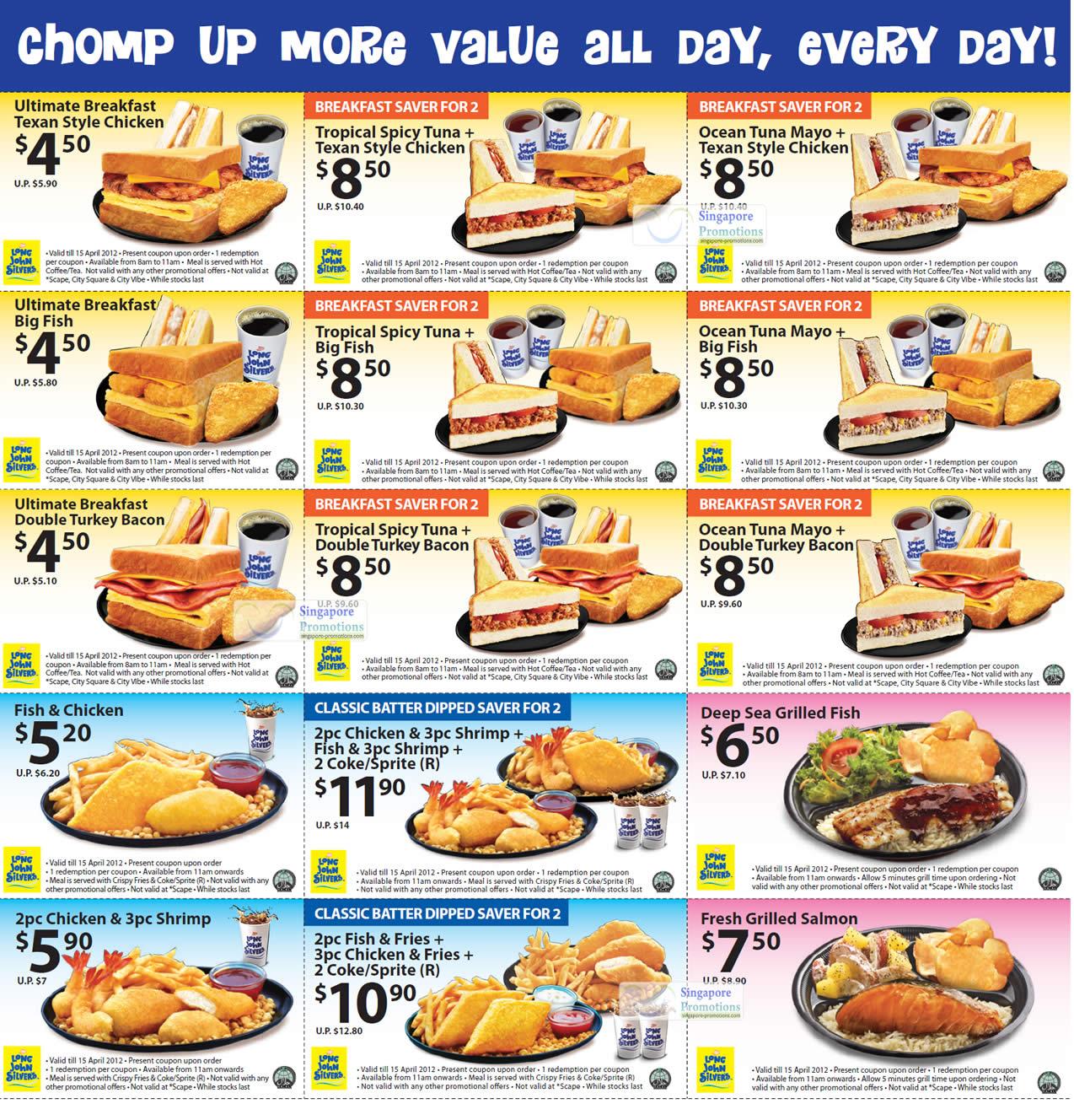 Long john silvers food coupons